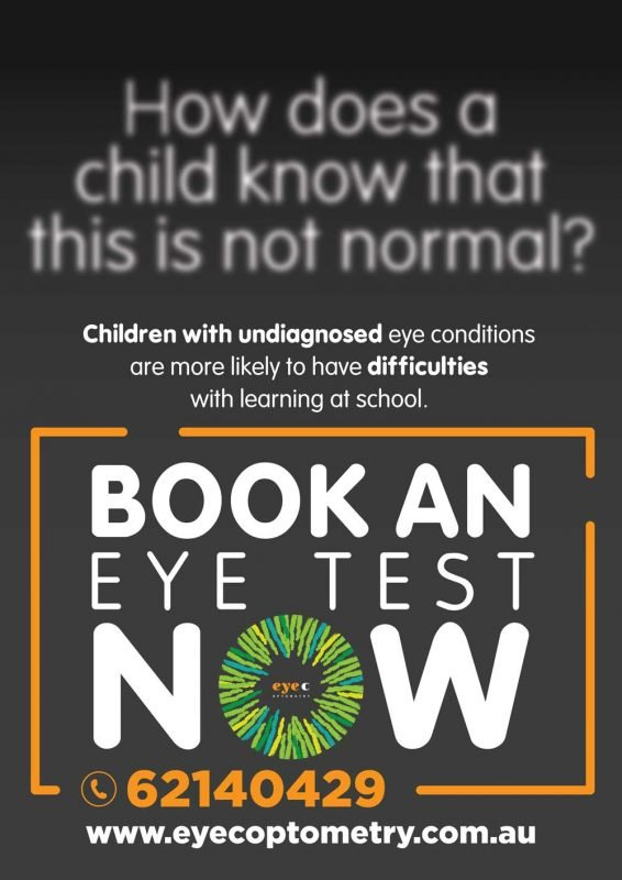 Eye Tests for school children